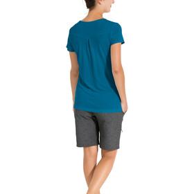 VAUDE Skomer Print Camiseta Mujer, kingfisher